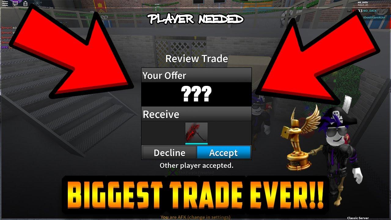 Roblox Assassin Trading