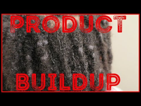 Removing PRODUCT BUILDUP from Dreadlocks (WARNING!)