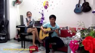 Chiếc áo bà ba guitar (Thúy Phượng + Nguyễn Xuân Tùng) -  Lớp nhạc Giáng Sol