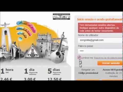 fon zon free internet login pass