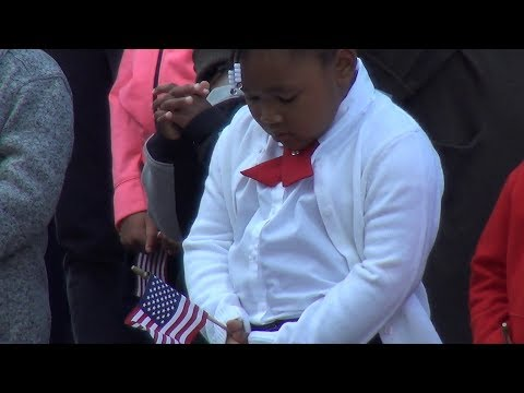 St. Marcus School Honors The Heroes Of The September 11, 2001 Attacks