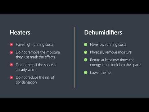 Heaters v Dehumidifiers