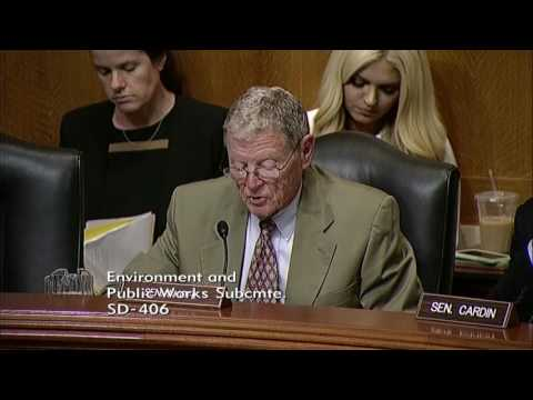 Inhofe Opening Statement for EPW Subcommittee Hearing on Highway Program