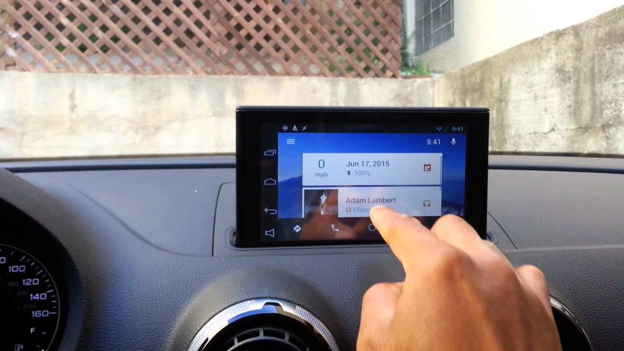 Update Android Auto Integrated Stereo Running Automate In 2015 Audi
