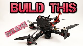 DIY. How to build a Racing drone/quadcopter. Full Kit guide GB 190