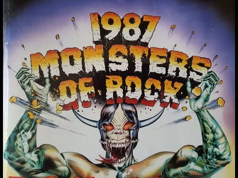 1987 Monsters Of Rock | Donington Park, England | 22nd August 1987 | Gig Review.