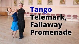 Tango Basic Lesson | Open Telemark and Fallaway Promenade, Closed Promenade