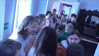 Первые уроки юного дворянина 22 школа 6г