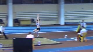 Лучший прыжок в длину Глафиры Стуковой - 501 см