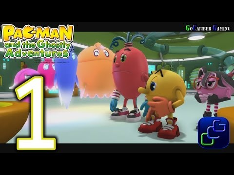 Pac-Man And The Ghostly Adventures Walkthrough - Gameplay Part 1 - Pacopolis: Invasion