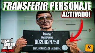 VUELVE el BOTÓN de TRANSFERIR PERSONAJE a GTA ONLINE! (TIEMPO LIMITADO)