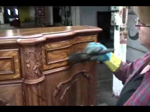 Finishing Process at Karges Furniture