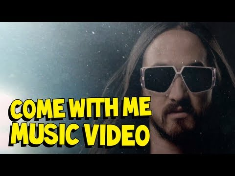 Come With Me (Deadmeat) - Steve Aoki ft. Polina MUSIC VIDEO