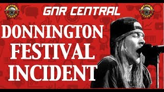 Guns N' Roses Documentary: Monsters of Rock Donington (Download) Festival Incident 1988