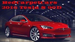 Поставка автомобилей из США. 2016 Tesla Model S 90D. Осмотр на месте. Аукцион copart.