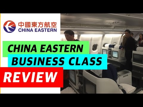 China Eastern Airlines - MU592 (MOSCOW SVO - SHANGHAI PVG) - Business Class - Review