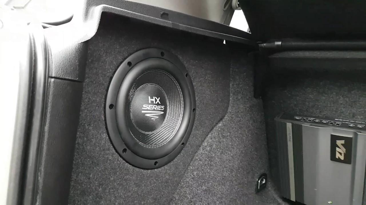 Poważne AUDIO SYSTEM HX08SQ ZABUDOWA VW Golf IV 4 - YouTube VG37