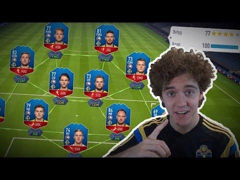 VINNA VM MED SVENSKA LANDSLAGET?? 🔥🇸🇪 - FIFA 18 WORLD CUP SVENSKA