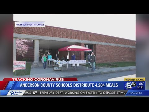 Anderson County Schools Distribute Over 4,000 Meals On First Day Of Program