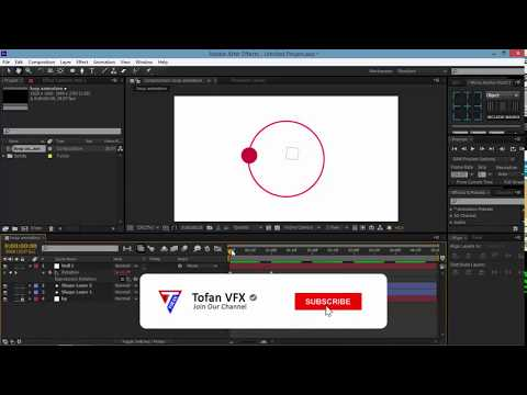 How To Make Vj Loops After Effects