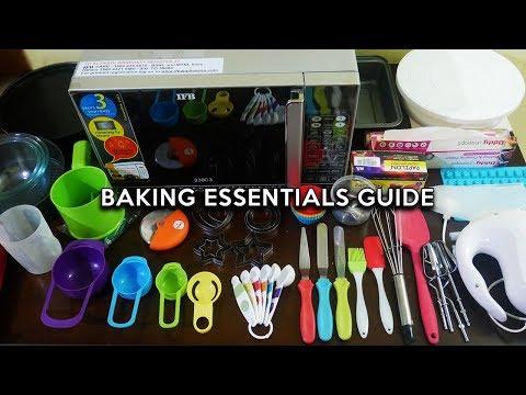 Baking Essentials For Beginners | Baking Basics Guide | Baking Kit | Pinks Kitchen