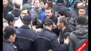 BDPliler Sinopta Protestolarla Karşılandı