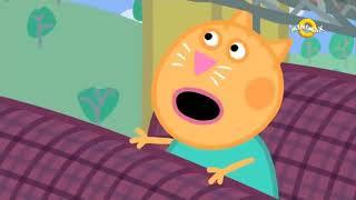 Wir fügen Sie zu den Peppa S3E18 Englisch Cartoon-KINDER Fahren Zug