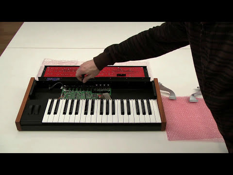 Mono Evolver Keyboard PE Conversion installation instructions