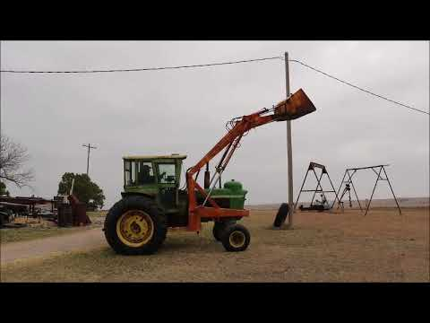 John Deere 4020 tractor for sale at auction | bidding closes May 23, 2018