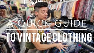 Ep. 11 A Quick Guide To Vintage Clothing | Birdimus World