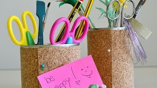How To Make A Tin Can Pen Holder - Diy Home Tutorial - Guidecentral