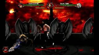 Mortal Kombat Introspection™ The Rooftop MKIT HD & Dark Liu Kang WIP Test 1.5