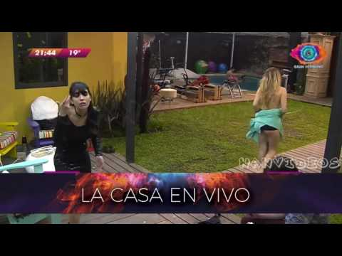 Ivana y Ainelén, cara a cara: De la fiesta a los insultos
