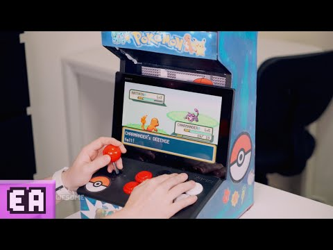 CUSTOM POKEMON ARCADE MACHINE!