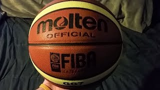 Molten Official GG7 FIBA Approved Basketball Review Leather