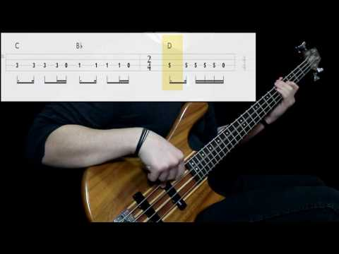 Soundgarden - Black Hole Sun (Bass Cover) (Play Along Tabs In Video)
