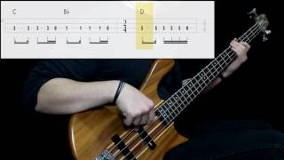 Soundgarden Black Hole Sun Bass Cover Play Along Tabs In Video