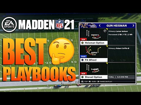 Top 5 BEST Playbooks in Madden 21 To Win More Games!