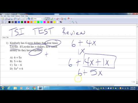 TSI Test Review 1