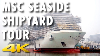 Watch as we tour MSC Cruises' new MSC Seaside, launching in Decembe...
