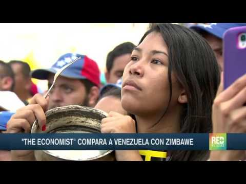 The Economist compara a Venezuela con Zimbawe