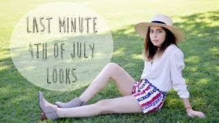 Festive 4th | Last Minute Looks Thumbnail