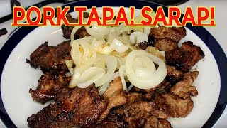 How To Cook Pork Tapa step by step demo| Anlambot At Ansarap! So Tender And So Yummy!
