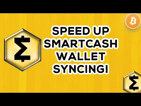 How To Speed Up Smartcash Wallet Syncing Tutorial