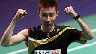 Lee Chong Wei - amazing badminton rallies and trickshots