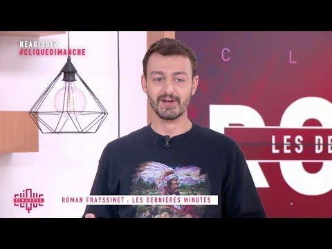 Roman Frayssinet : Les trottinettes électriques - Clique Dimanche - CANAL+