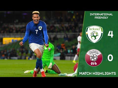 HIGHLIGHTS | Ireland 4-0 Qatar - International Friendly