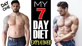 7 DAY BODY TRANSFORMATION | Full Diet & Training Explained | DAY 1 & 2 Update (Lex Fitness)