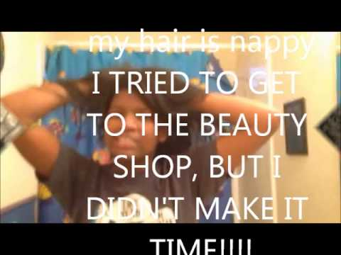 MY HAIR IS NAPPY!! PARODY SONG OF PHARRELL WILLIAMS (HAPPY)