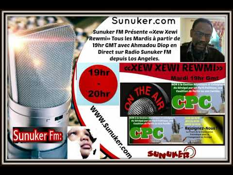 "Emission ""XEW XEWI REWMI"" du mardi 28 Janvier 2020 avec Ahmadou Diop"